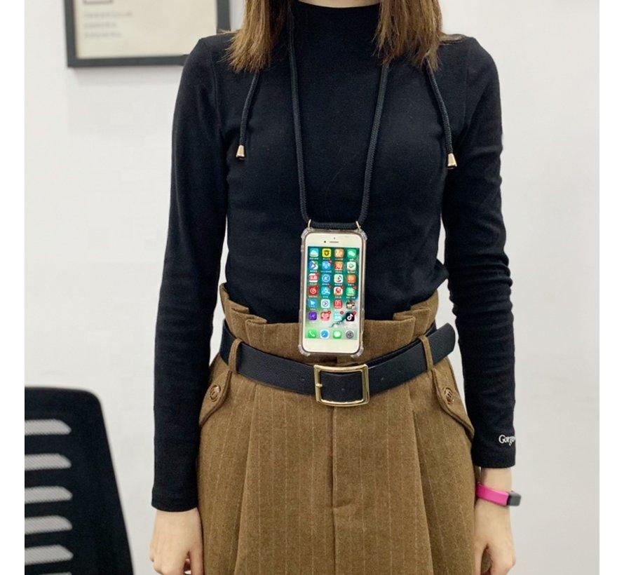 ShieldCase Shock hoesje met zwart koord iPhone 8 Plus / 7 Plus