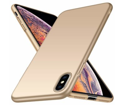ShieldCase ShieldCase Ultra thin iPhone Xs Max case (goud)