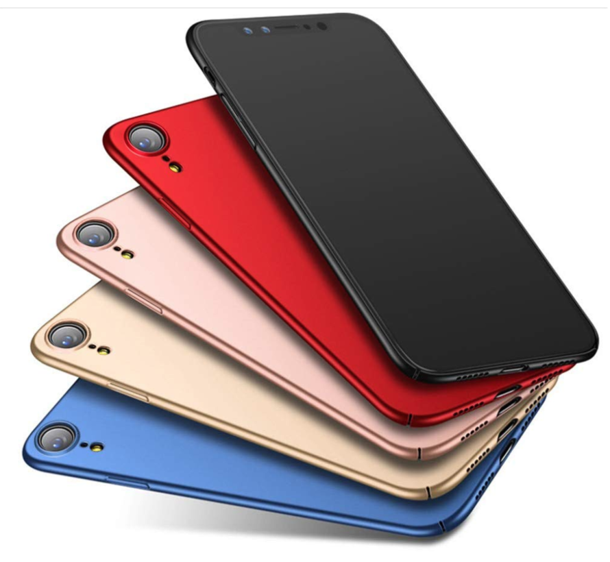 Shieldcase Ultra thin iPhone Xs Max case (rood)