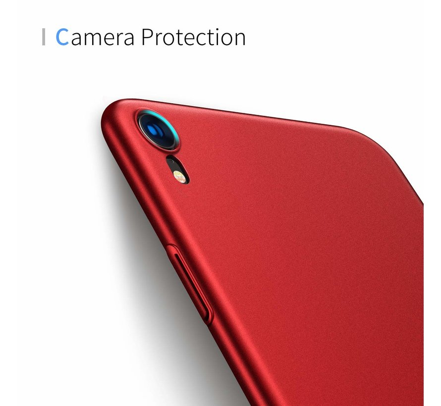 ShieldCase Ultra thin iPhone Xr case (rood)