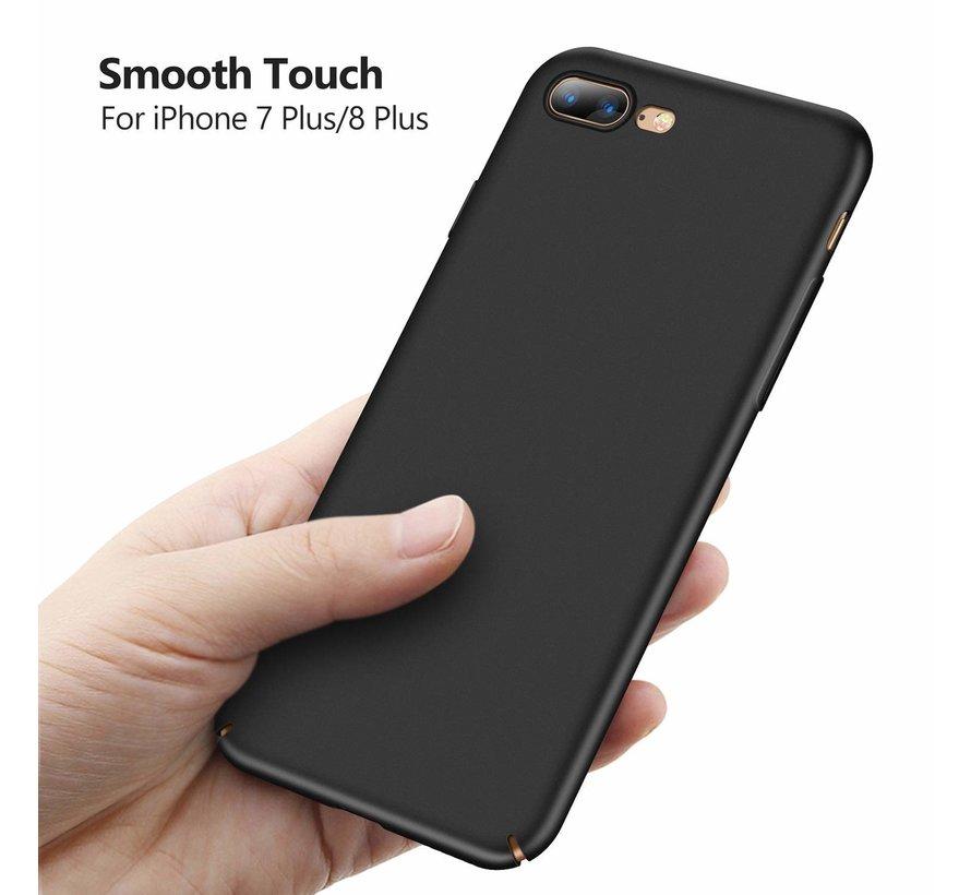 ShieldCase Ultra thin iPhone 8 Plus / 7 Plus case (zwart)