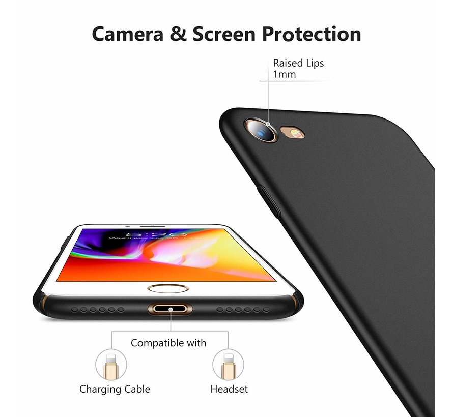 ShieldCase iPhone 7 /  8 ultra thin case (zwart)