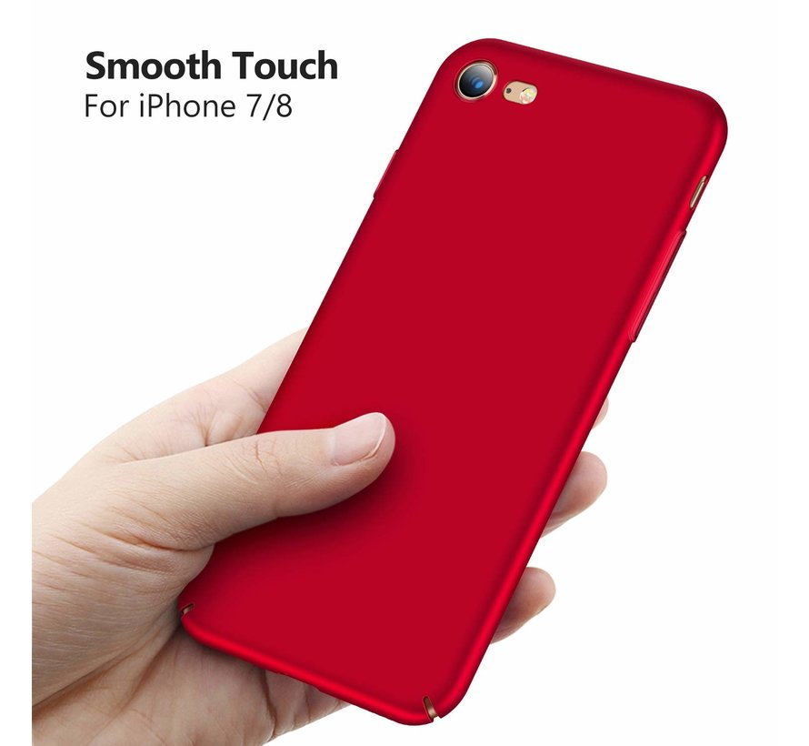 ShieldCase Ultra thin iPhone 7 / 8 case (rood)