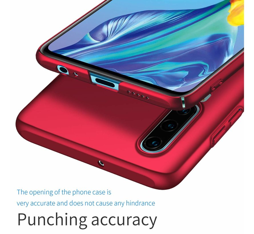ShieldCase Ultra thin Huawei P30 case (rood)