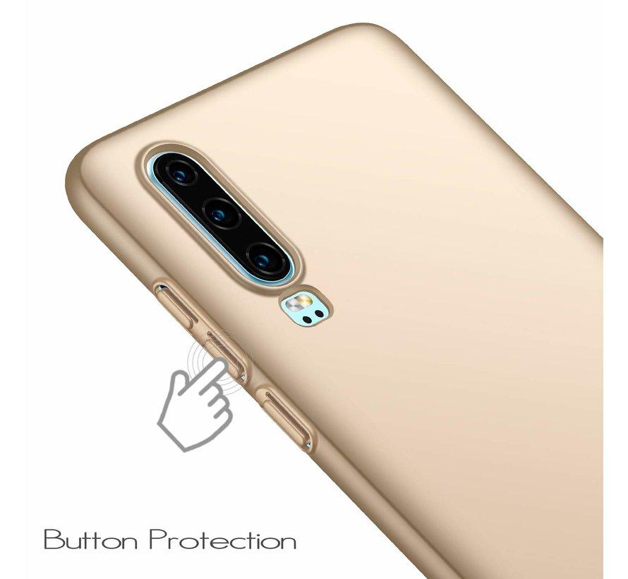 ShieldCase Ultra thin Huawei P30 case (goud)