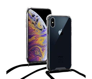 ShieldCase® Shock hoesje met zwart koord iPhone X / Xs