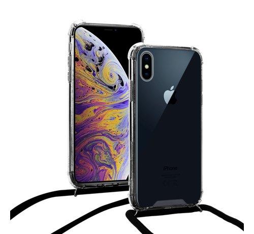 ShieldCase ShieldCase Shock hoesje met zwart koord iPhone X / Xs