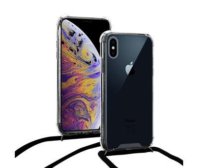 ShieldCase ShieldCase Shock hoesje met zwart koord iPhone Xs Max