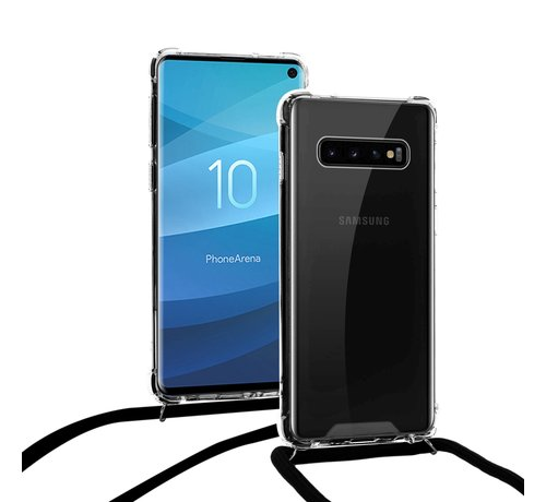 ShieldCase ShieldCase Shock hoesje met zwart koord Samsung Galaxy S10