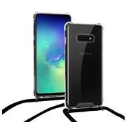 ShieldCase® Shock hoesje met zwart koord Samsung Galaxy S10e