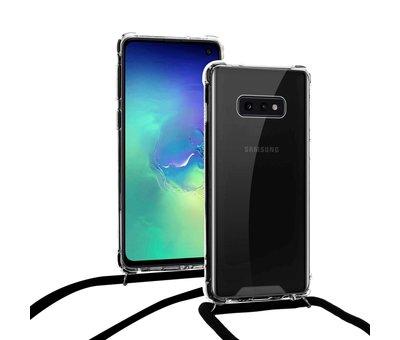 ShieldCase ShieldCase Shock hoesje met zwart koord Samsung Galaxy S10e