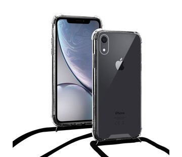 ShieldCase Shock hoesje met zwart koord iPhone Xr