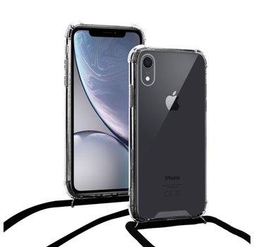 ShieldCase® Shock hoesje met zwart koord iPhone Xr