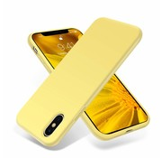 ShieldCase® Silicone case iPhone X / Xs (geel)