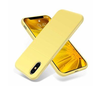 ShieldCase ShieldCase Silicone case iPhone X / Xs (geel)