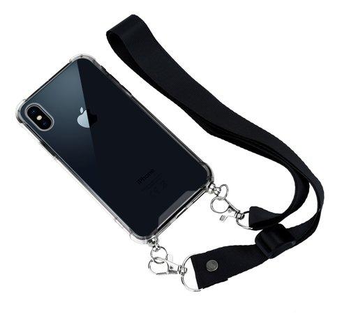 ShieldCase ShieldCase Shock Case met zwart keycord iPhone Xs Max