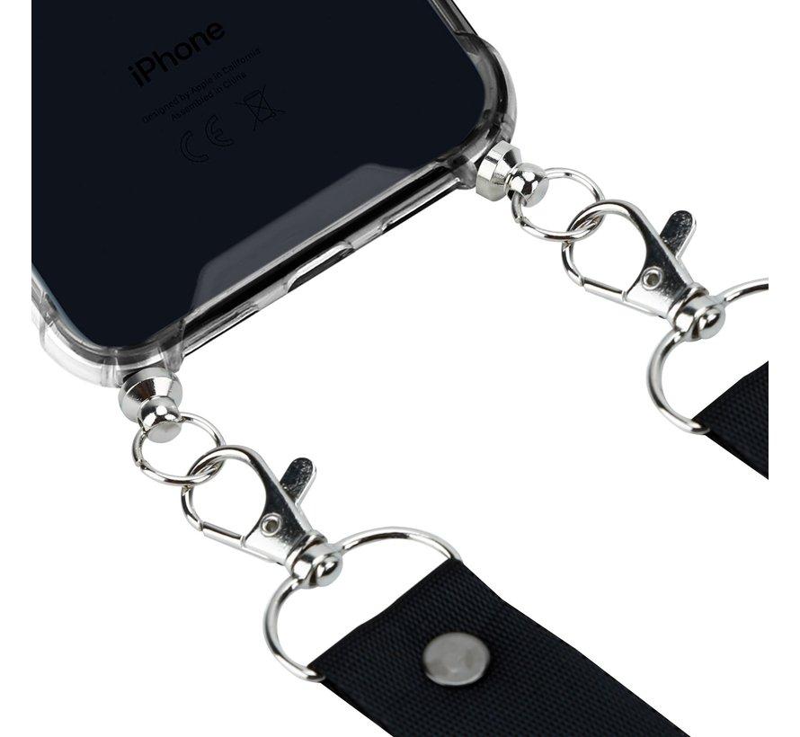 ShieldCase Shock Case met zwart keycord iPhone Xs Max
