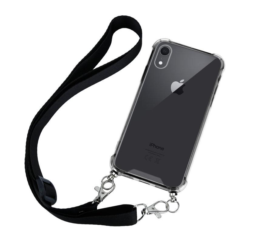 ShieldCase Shock Case met zwart keycord iPhone Xr