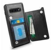 ShieldCase Samsung S10 wallet case (zwart)