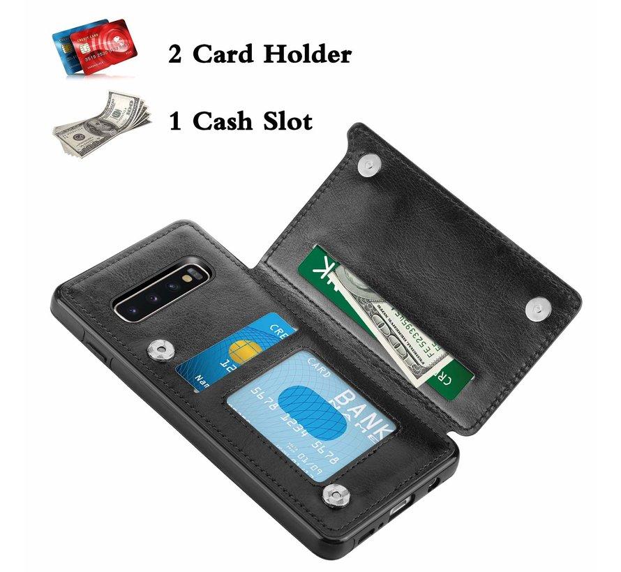 ShieldCase Wallet Case Samsung Galaxy S10 (zwart)