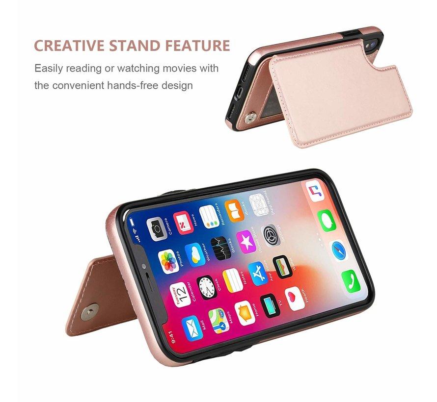 ShieldCase Wallet Case  iPhone X / Xs (roze)
