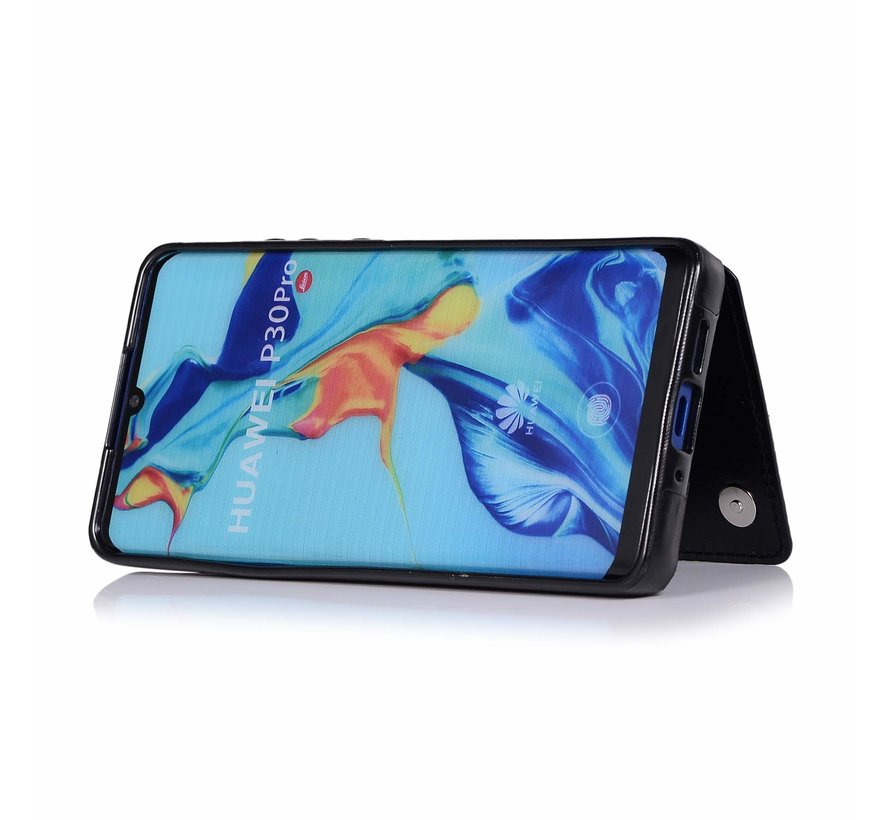 ShieldCase Wallet Case Huawei P30 (zwart)