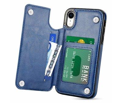 ShieldCase ShieldCase Wallet Case  iPhone Xr (blauw)
