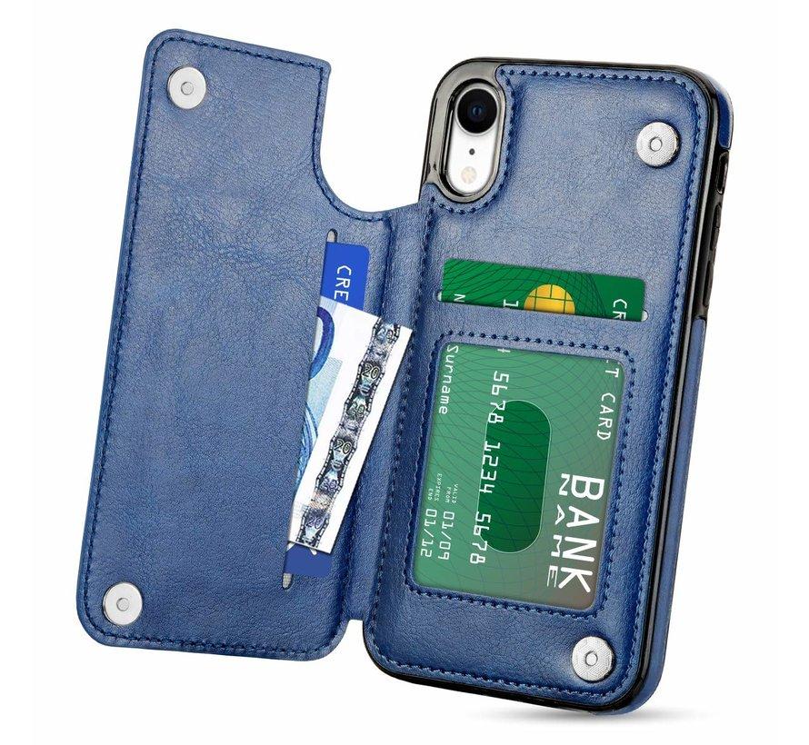 ShieldCase Wallet Case  iPhone Xr (blauw)