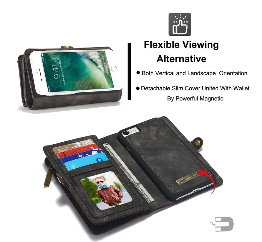 ShieldCase 2-in-1 Wallet Case iPhone 7 / 8