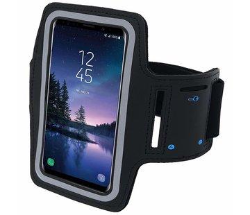ShieldCase® Zwarte universele sportarmband voor smartphone