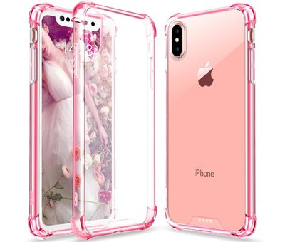 ShieldCase® ShieldCase Shock case iPhone X / Xs (roze)