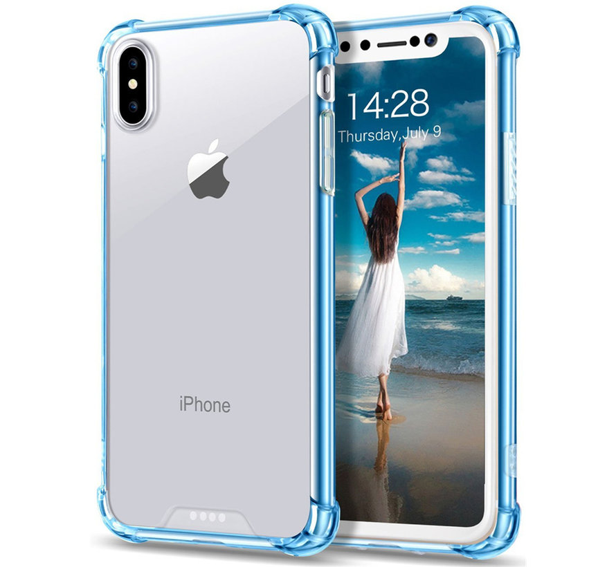 ShieldCase Shock case iPhone X / Xs (blauw)