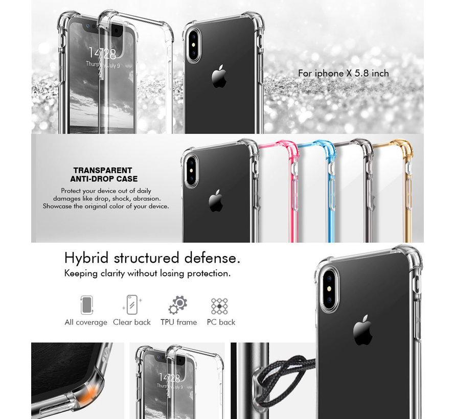 ShieldCase Shock case iPhone X / Xs transparant