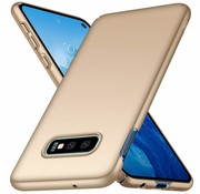 ShieldCase® Ultra thin Samsung Galaxy S10e case (goud)