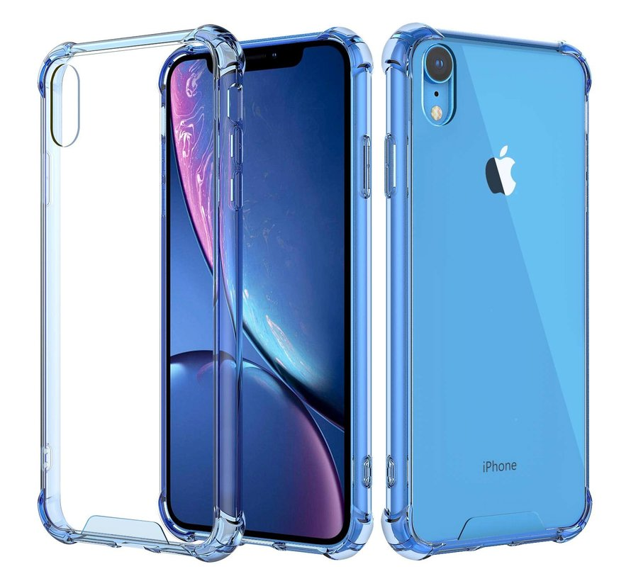 Shock case iPhone Xr (blauw)
