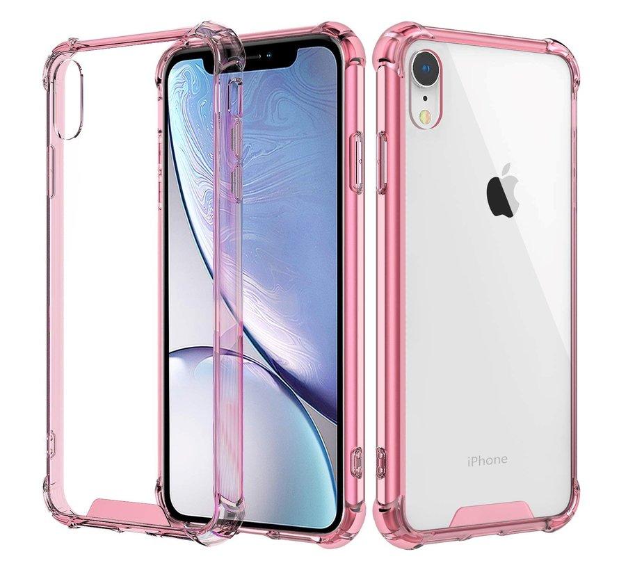 Shock case iPhone Xr (roze)