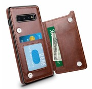 ShieldCase Wallet Case Samsung Galaxy S10 (bruin)