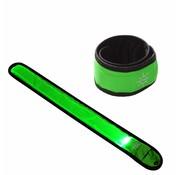 ShieldCase® Reflecterende groene LED-strip armband