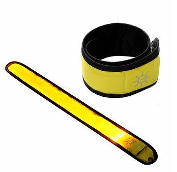 ShieldCase Reflecterende gele LED-strip armband