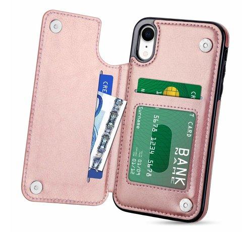 ShieldCase ShieldCase Wallet Case iPhone Xr (roze)