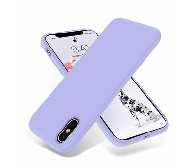 ShieldCase ShieldCase Silicone case iPhone X / Xs (paars)
