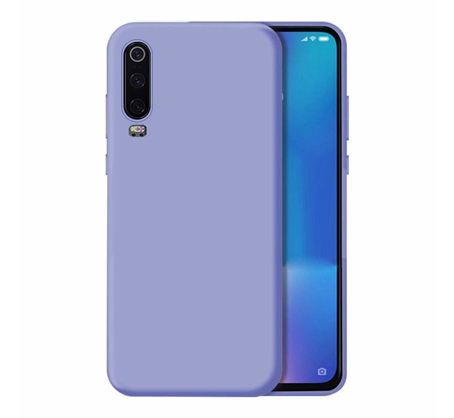 ShieldCase Silicone case Huawei P30 (paars)