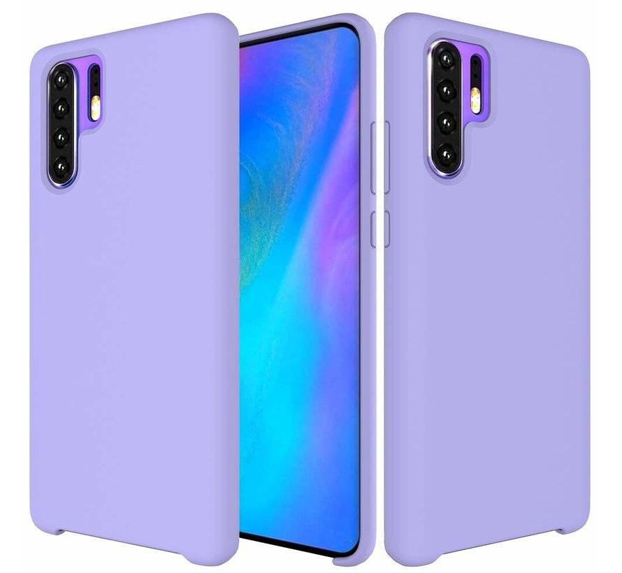 ShieldCase Silicone case Huawei P30 Pro (paars)