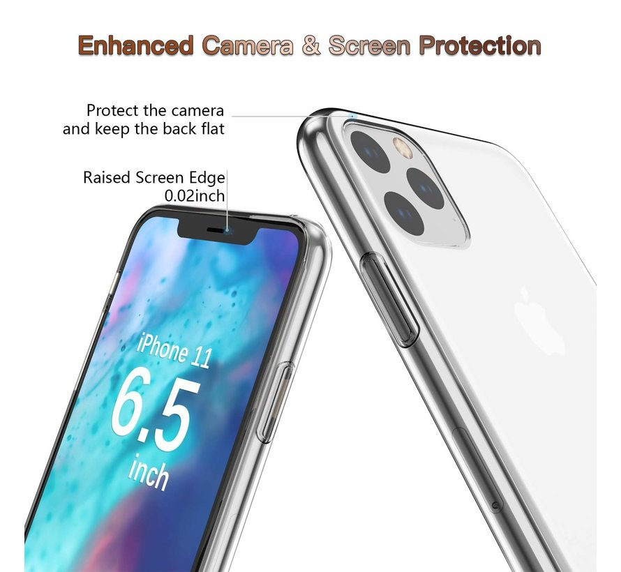 ShieldCase Ultra thin silicone hoesje iPhone 11 Pro Max (transparant)