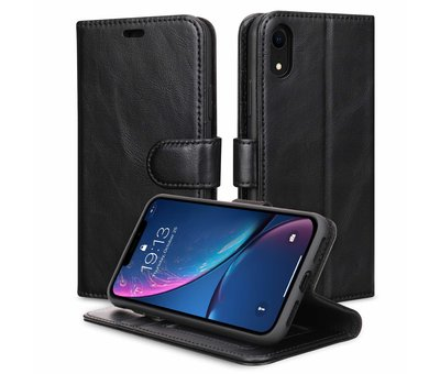 ShieldCase Shieldcase vintage leren wallet case iPhone Xr