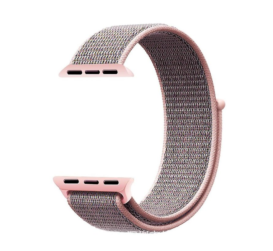 Apple Watch nylon loop band (pink sand)
