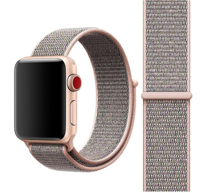 Apple Watch nylon loop band (pink sand)