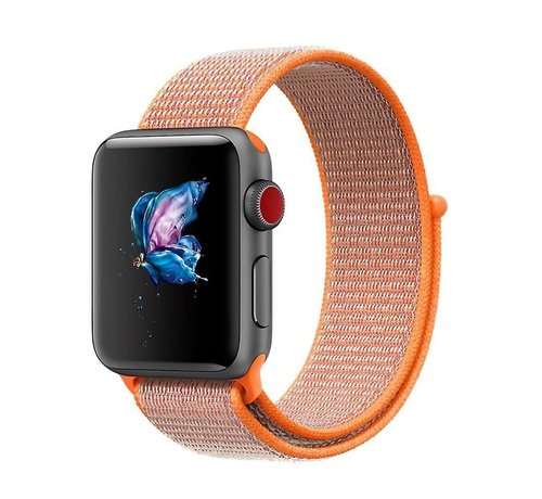 Apple Watch nylon loop band (oranje)