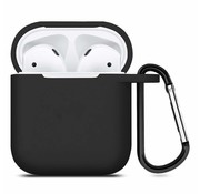 ShieldCase Apple Airpods silicone case (zwart)