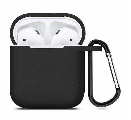 ShieldCase® Apple Airpods silicone case (zwart)
